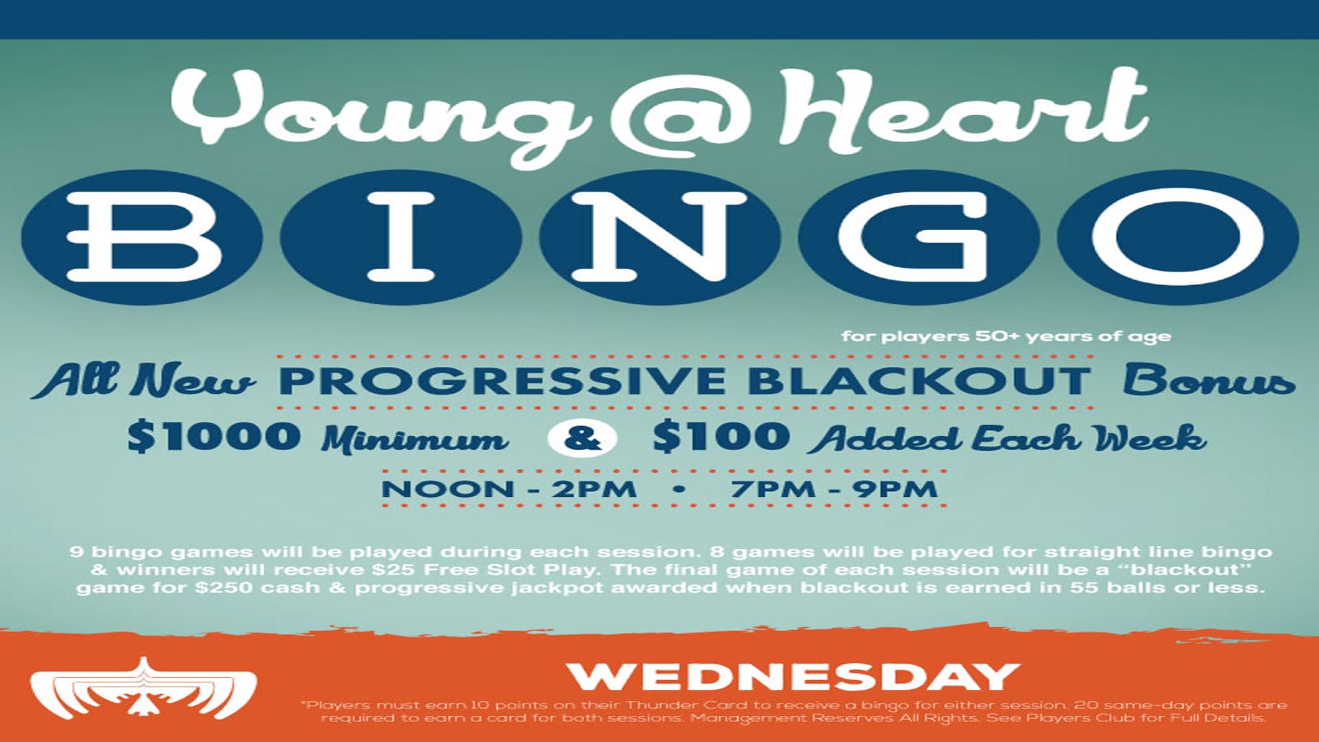 YOUNG @ HEART BINGO